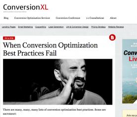 When Conversion Optimization Best Practices Fail