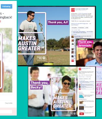 Social Media Campaign: #ThankYouThursday